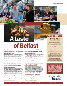 PROMOTING BELFAST TO 1.5+ MILLION 'SOCIAL ENERGISERS' VIA TI